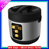 Rice Cooker YONG MA Magic Com Stainless 2 Liter - YMC114