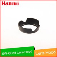 [globalbuy] New Flower Crown Plastic Lens Hood Shade EW-60C II Lens Hood for Camera Digita/2256744