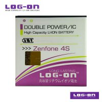 LOG-ON Battery For Zenfone 4S - Double Power & IC Battery - Garansi 6 Bulan