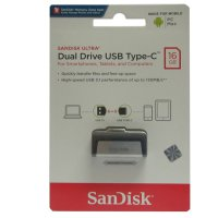 SANDISK FLASHDISK USB 3 OTG TYPE C 16GB /UP TO 130 MB/S