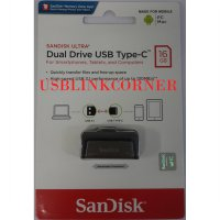 FLASHDISK SANDISK USB 3.1 OTG TYPE C 16GB /UP TO 130 MB/S
