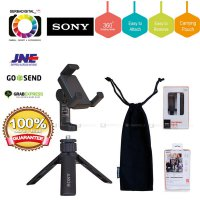 (Gold Product) SONY SPA-MK20M Tripod Smartphone Free Rotating Holder 360/Mini Tripod