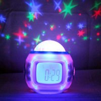 Jam Meja / Digital Desktop Smart Clock Music and Starry Sky - UI-1038