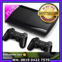 (Murah) PS3 PS 3 Sony Playstation Super Slim 250GB + FULL GAME