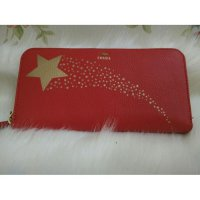 Dompet FOSSIL Gifting Real Red [ ORIGINAL FOSSIL WALLET / CLUTCH ]