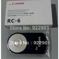 [globalbuy] RC-6 RC6 IR Wireless Remote Control For Canon EOS 5D II 7D 550D 500D 60D 600D /2940025