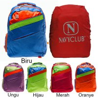 Navy Club Ransel Laptop 3271 [Gratis Bag Cover]