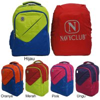 Navy Club Ransel Laptop 3267 [Free Bag Cover]
