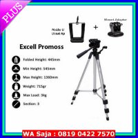[Premium] Tripod excell promos + hp + action cam / tripod hp