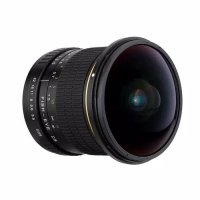 Lensa kamera fish eye fix focus - Hitam