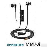 Sennheiser MM70i/MM 70i / canal headset / iphone / ipod / volume control / SDF Warranty ash / other day holiday shipping / super speed delivery of qualitative products + + super mind doing the best!