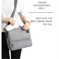 Korean Grand Voyaging Bag Ver 2 / Tas Selempang / Multi Compartment Travel Bag