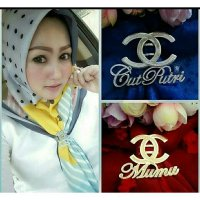 Ring Hijab Ukir Nama Motif Channel