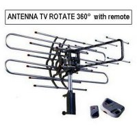 Antenna Tv Rotate 360 With Remote Harga Promo09