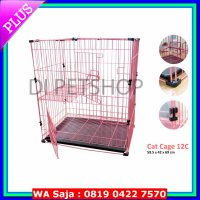(Dijamin) KANDANG KUCING/CAT CAGE 12C