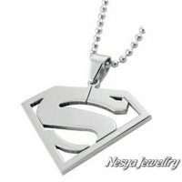 Kalung Stainless Stell Super Boy ~ Nesya Jewellry