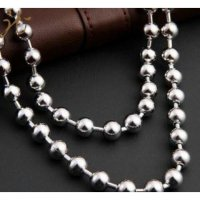 Kalung Pria Big [] Jumbo/ motif Lada/ Bola cina [] The necklace Men for all the men's cool [ Nesya Jewellry]