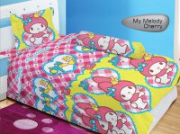 Sprei Lady Rose Disperse 120 - My Melody Cherry