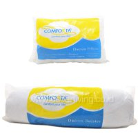 Comforta Dacron Pillow and Bolster - Putih
