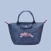 Tas Branded Longchamp Le Pliage On The Road Small Size - DARK GREY RED 90c86eeae7