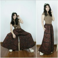 Cj collection Celana kulot batik panjang wanita jumbo long pant Sahari