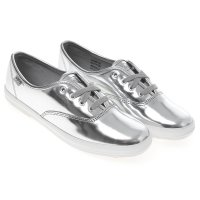 [Keds] CHAMPION METALLIC PATENT (WH56020) Silver (SL) sneakers