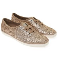 [Keds] CHAMPION GLITTER (WF54539) Champagne (CHP) sneakers