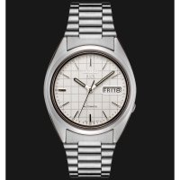 Seiko 5 SNXF05K1 Automatic Silver White Original For Man Best Seller
