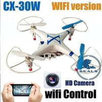 Helicopter Wifi Smart Phone Control Drone With Hd Camera RealtimeVideo