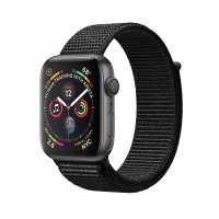 Apple Watch Series 4 GPS 44mm Space Grey Black Sport Loop