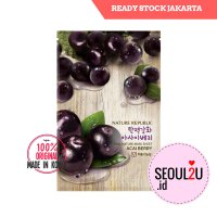 Nature Republic Real Nature Mask Sheet Acai Berry