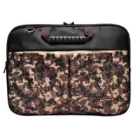 Ultimate Laptop Bag Double Pro Army 14' - Cokelat