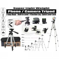 Tripod Portable Camera Kamera Stand 3110 For Camera Or Mobile Phone Best Seller