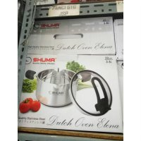 PANCI SHUMA DUTCH OVEN 22CM 35LT STAINLESS STEEL