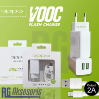 Charger OPPO VOOC FAST CHARGING 2Ampere 2Port Usb