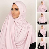 HIJAB 0269A8r-723Er-8D32r Pashmina Instant Almeira 2 Face Double Loop 5 In 1