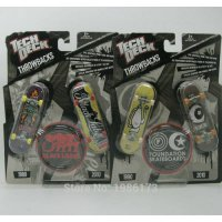 [globalbuy] 2pcs NEW Fingerboard Tech Decks throwbacks 96mm Skateboard Original package BL/3148539