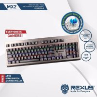 Rexus MX2 Legionare Mechanical Gaming Keyboard - Blue Switch - RX-MX2