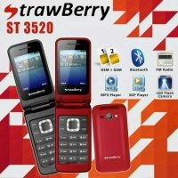 Strawberry ST3520 Flip Model Samsung ( Vibrat Mode Read Limited