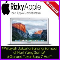 Garansi Apple MacBook Air 13' inch 2015 MJVG2 (1.6Ghz Haswell Core i5/RAM 4GB/SSD 256GB)