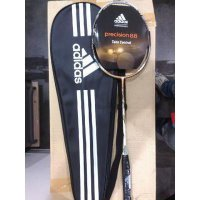 raket bulutangkis/raket badminton adidas original precision 88 dragon brown