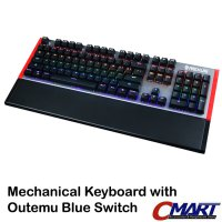 Rexus MX7 RGB Legionare Mechanical Gaming Keyboard -Outemu Blue Switch