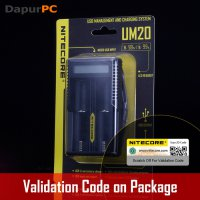 NITECORE - UM20 Charger Dual Slot + LCD High Definition