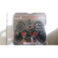 GAMEPAD SINGLE GETAR INFERNO MTECH / JOYSTICK USB / STICK KOMPUTER