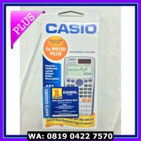 (Diskon) Kalkulator Casio Scientific FX-991ID Plus Baru
