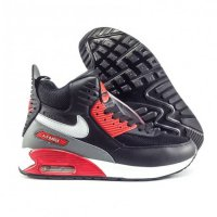 Nike Sneaker Boots Air Max 90 Black Red
