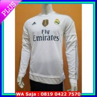 JERSEY REAL MADRID HOME LONG SLEEVE LS 2015/2016 GRADE ORI