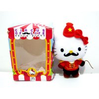 Boneka Hello Kitty Animal Tamer Original Sanrio MCD Circus Of Life