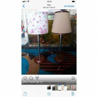 lampu meja table lamp small