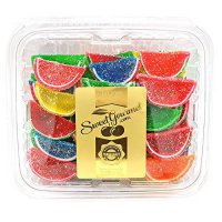 [poledit] SweetGourmet Boston Assorted Fruit Slices- Candy Fruit Jelly Slices (T1)/14292209